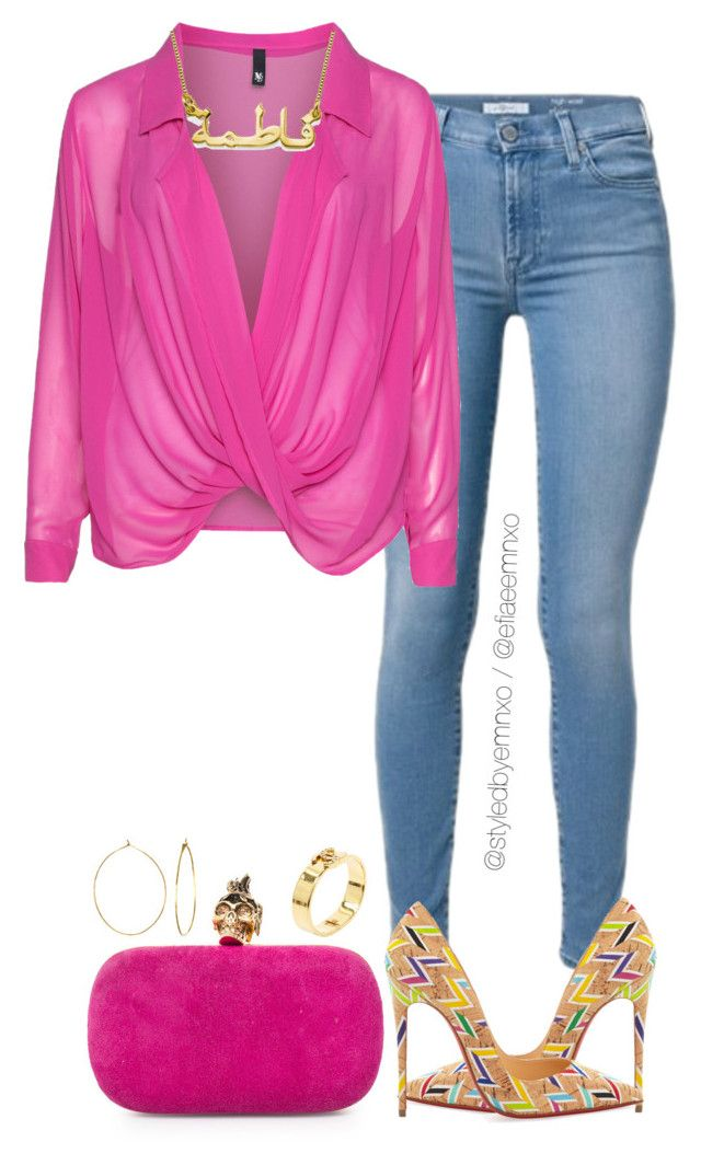 """""""Hot Cork"""" by efiaeemnxo ❤ liked on Polyvore featuring Alexander McQueen, Christian Louboutin, Manon Baptiste, Chanel, Phyllis + Rosie, sbemnxo and styledbyemnxo"""