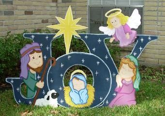 Christian Wood Yard Decoration Touch Of Heaven Yard Art Christmas Yard Art Christmas Yard Christmas Yard Decorations