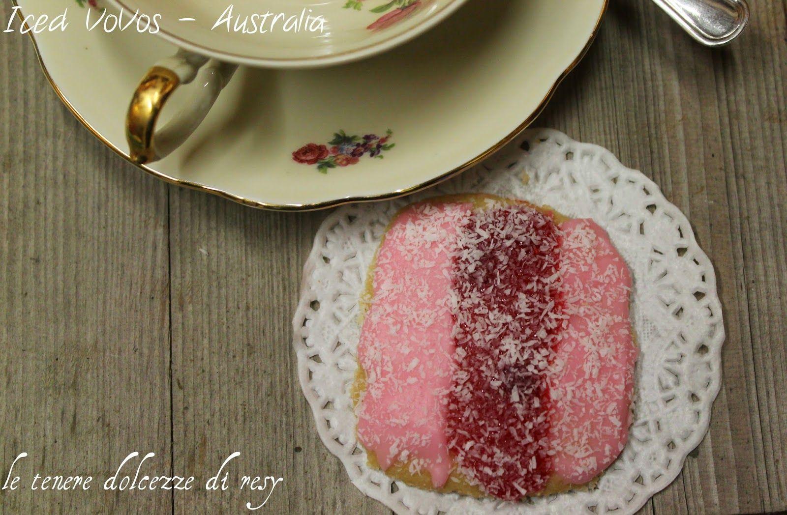 le tenere dolcezze di resy: Homemade Iced Vovo's - i tipici biscotti glassati australiani per accompagnare il tè