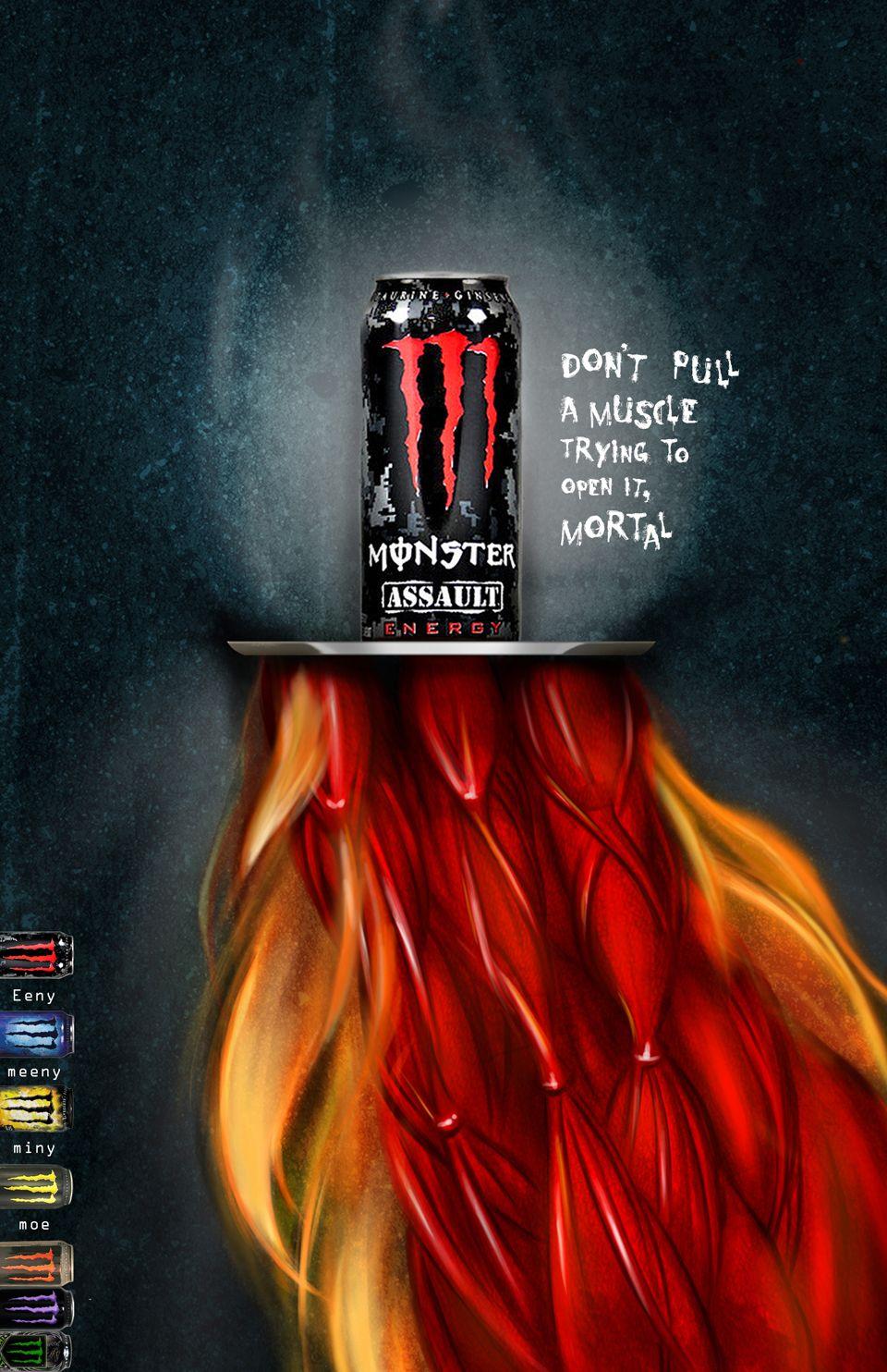 Monster Energy Drinks Monster Energy Drink Energy Drinks Beverage Poster