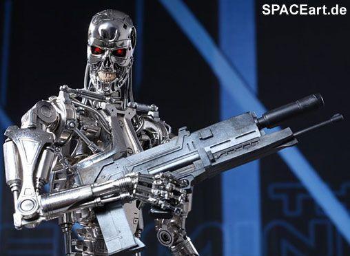 Terminator: T-800 Endoskelett - Giant, Voll bewegliche Deluxe-Figur ... spaceart.de/...