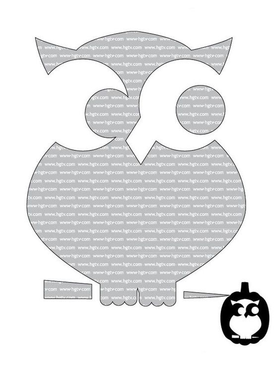 22 Pumpkin Carving Templates Owl Stencil Easy Patterns