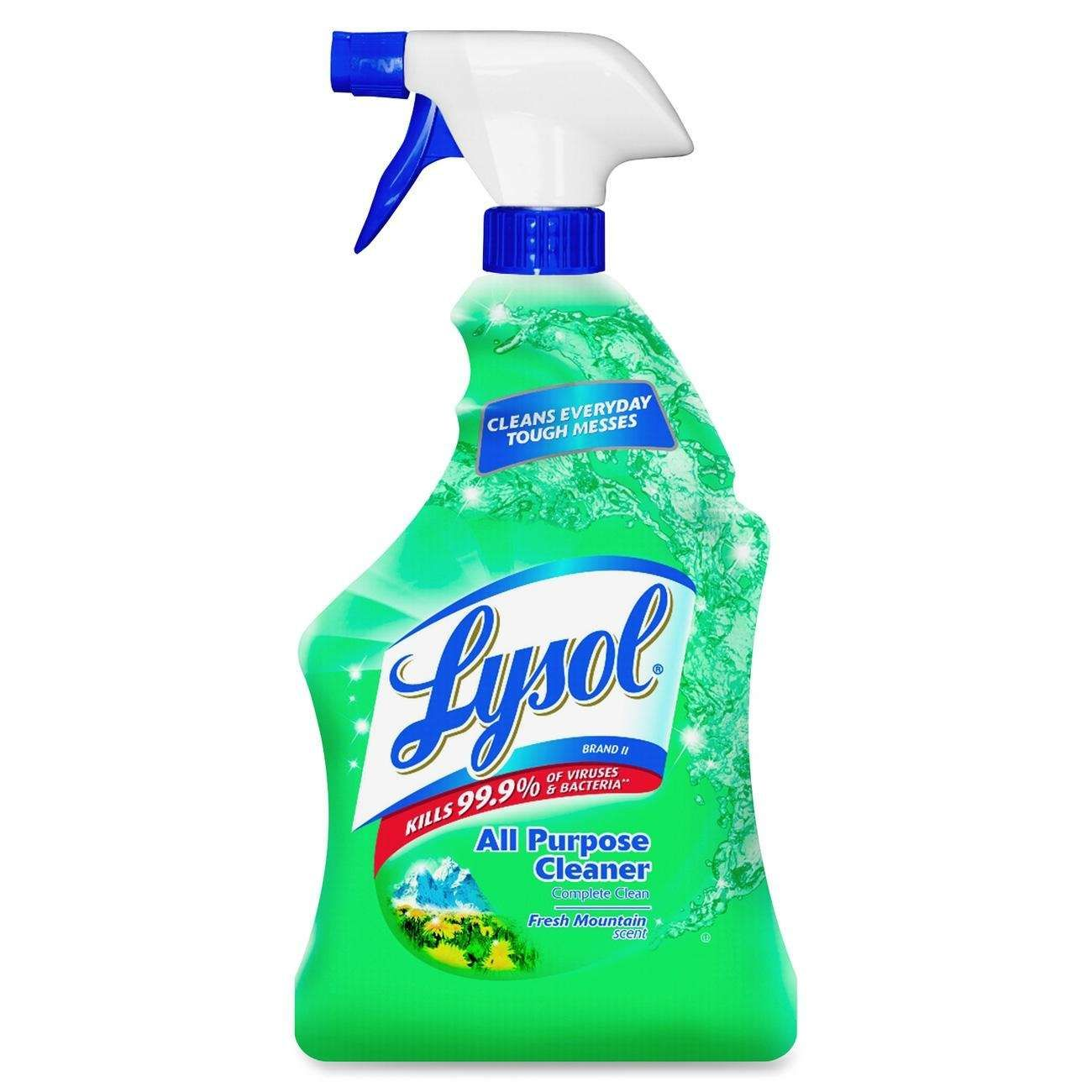 Germs will not stand a chance with Lysol on duty. All