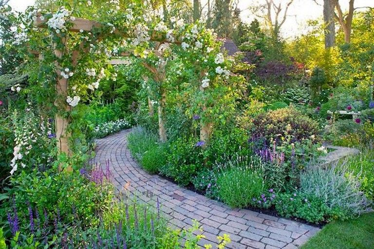 95+ Beautiful Modern English Country Garden Design Ideas ...
