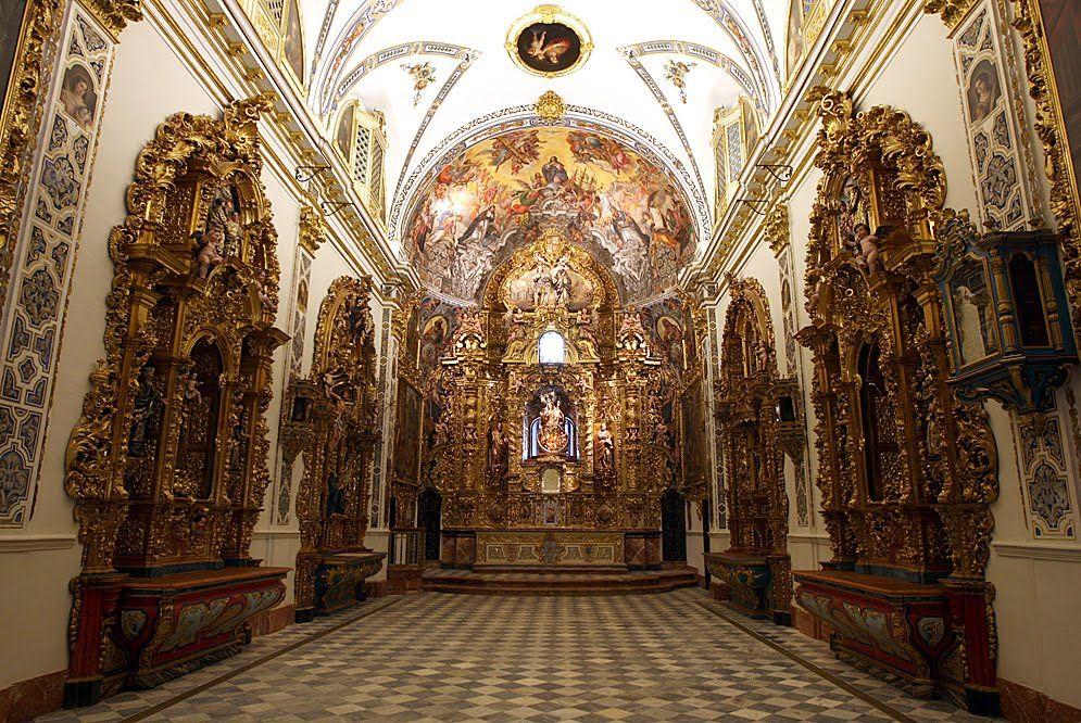 Capilla del Palcio San Telmo, Nuestra Señora del Buen Aire. La ...