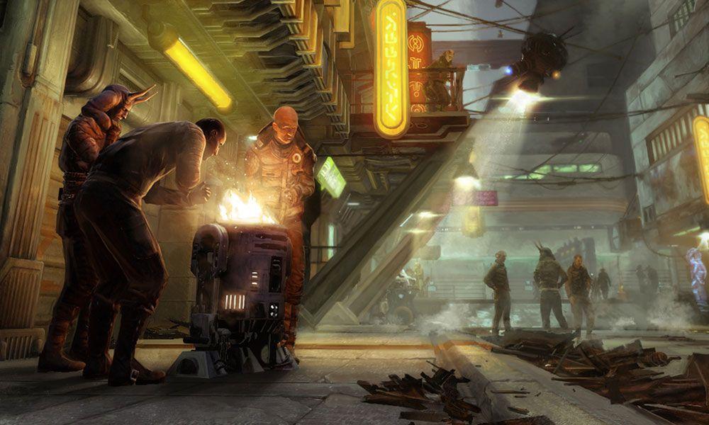 Homeless & Astromech Fire Pit | Star Wars 1313