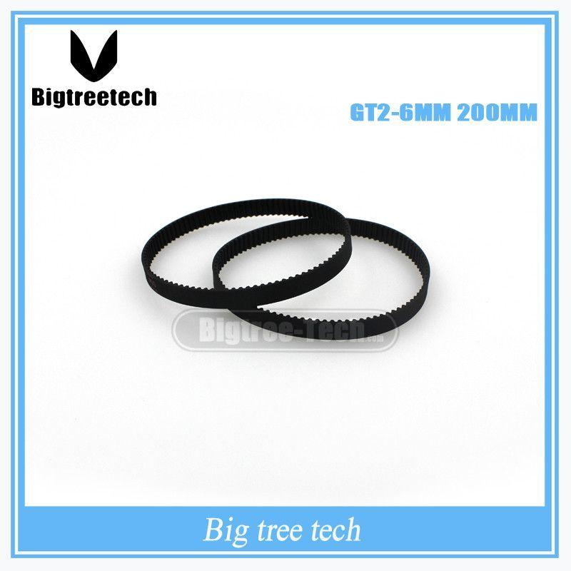 Jjzhb PYunLi-Timing Belt C-7 3D Printer GT2 Closed Loop Rubber 2GT Timing Belt Width 6mm Length 232 240 244 250 252 260 264 268 274 278 Mm Quality replacement parts