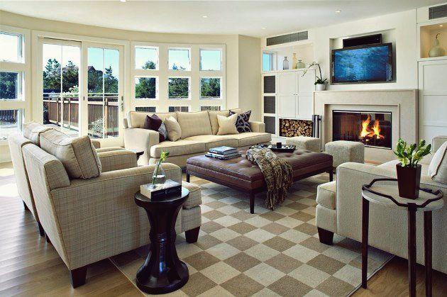 Photo of 18 ruhige Küstenwohnzimmer für Ihren Komfort