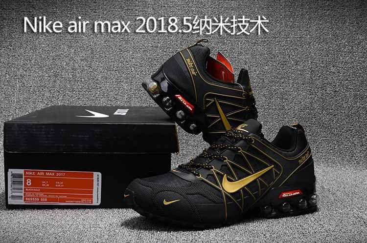 Nike Air Max 2018.5 Sneaker Running Herren SchwarzRot(Nike