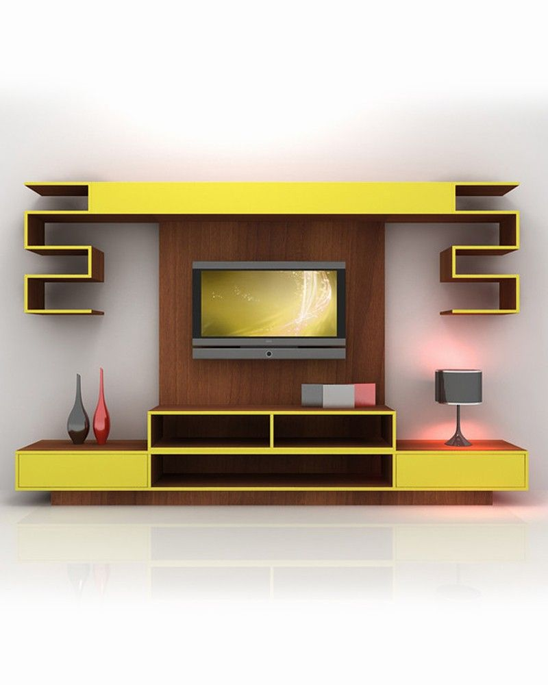 Modern Living Room Lcd Tv Stand Wooden Design Fa18b: 40 Cool TV Stand Dimension And Designs For Your Home In
