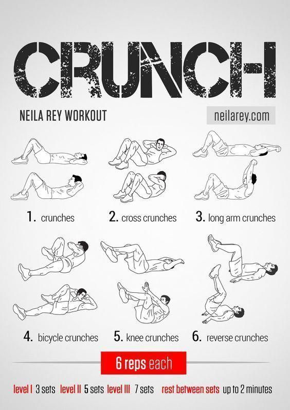 Crunch Workout / Works: lower abs, upper abs, lateral abs #fitness #workout #workoutroutine #abdomin...