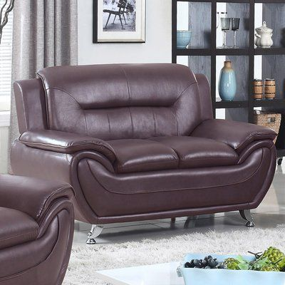Ebern Designs Brose Loveseat Wayfair Living Room Furniture Sale Modern Loveseat Modern Lounge