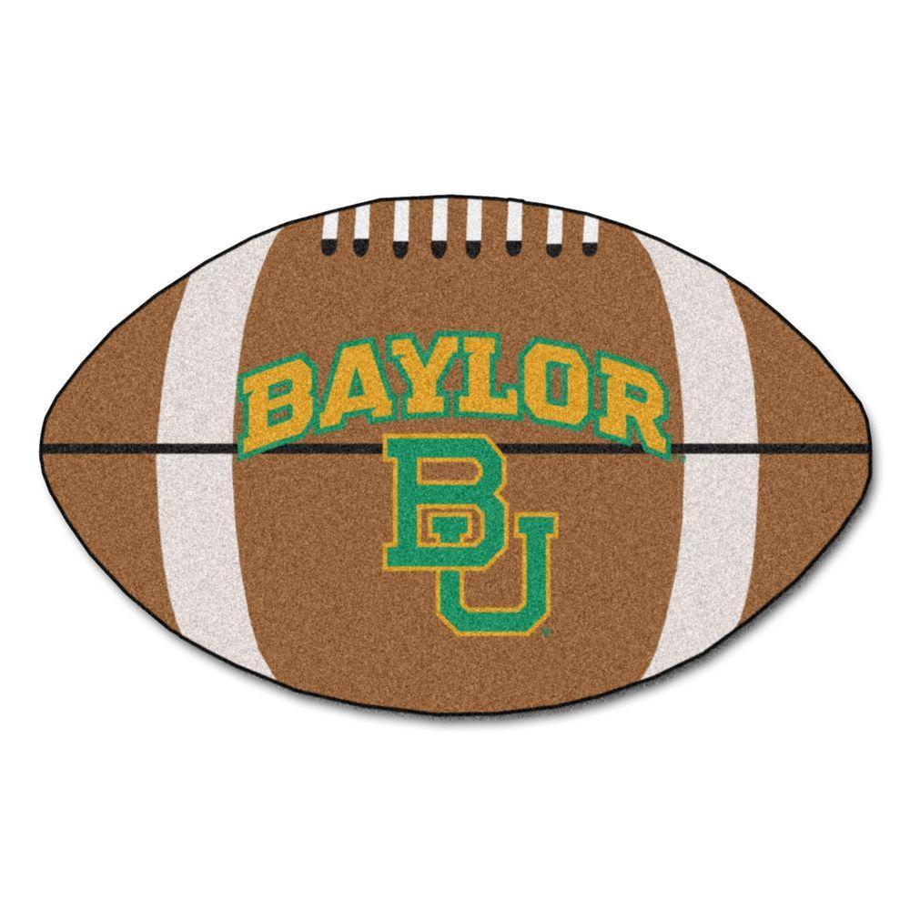 FANMATS NCAA Baylor University Brown 2 ft. x 3 ft