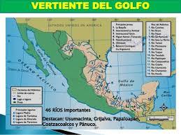 Vertiente Del Artico Mapa Buscar Con Google Hidrografia De America Golfo De Mexico Estados Unidos De America