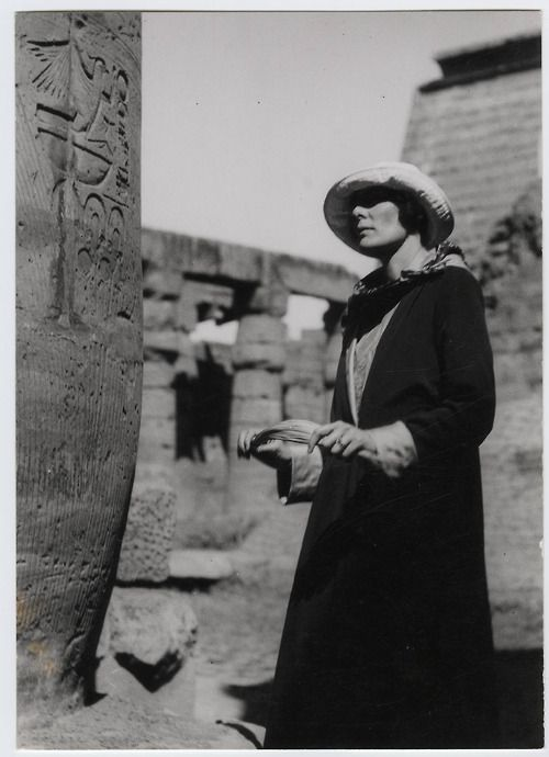 "H.D. in Egypt, 1923~ H.D. (Hilda Doolittle) was primarily a poet who was present at the opening of King Tut's tomb. The hieroglyphs and treasures of a world more ancient than Greece fascinated H.D., who turned repeatedly to Egypt as a symbol for the sacred, in works such as Palimpsest, ""Pilate's Wife,"" Trilogy, and Helen in Egypt."
