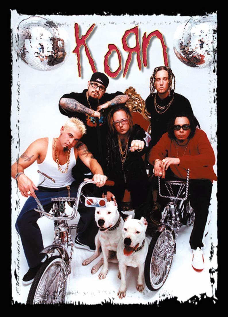 Alternative Metal, Band Posters, Korn