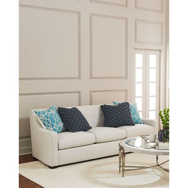Charming Bernhardt Freddie Tufted Back Sofa (2,365 CAD) ❤ Liked On Polyvore  Featuring Home,