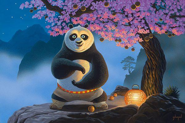 Master Oogway And His Peach Tree Would Be Nice To Paint It Panda Tree King Fu Panda Kung Fu Panda