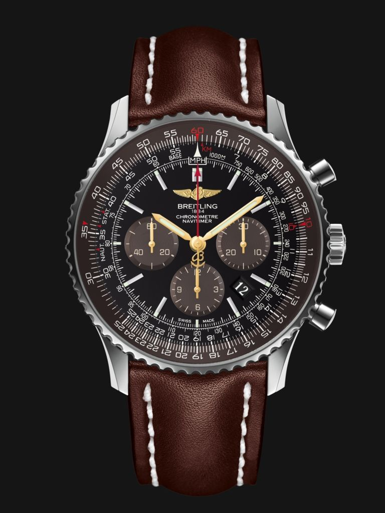 3158560e752 New - Breitling Navitimer 01 (46mm) - Swiss pilot s watch