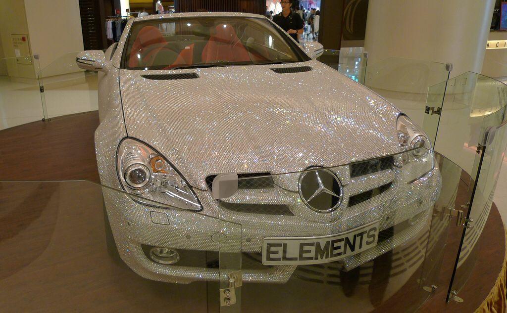 Crystal Studded Mercedes Benz