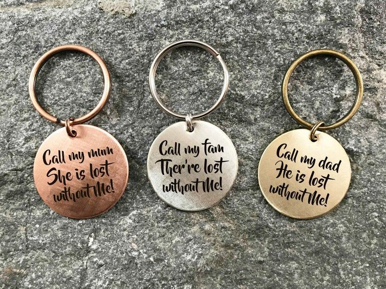 Custom Dog Collar Tag Hand Stamped Dog Tag Personalized Pet Name Tag Pet ID Tag Engraved Dog Mom Dog Tag New Pet