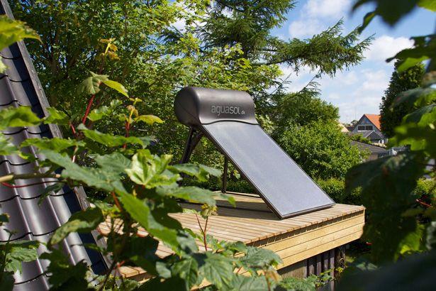 Aguasol Solar Water Heater