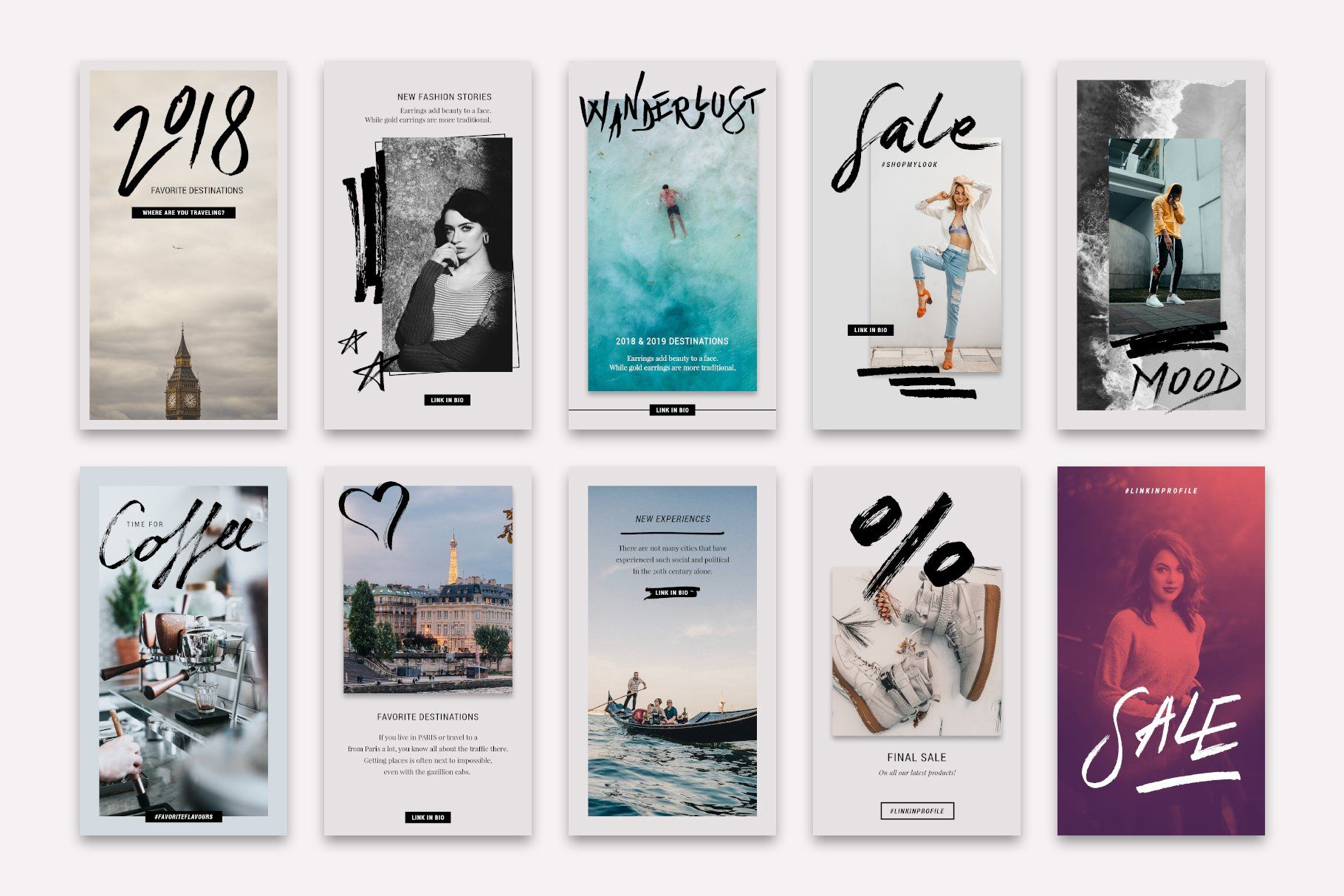 Animated instagram stories bundle by silverstag on