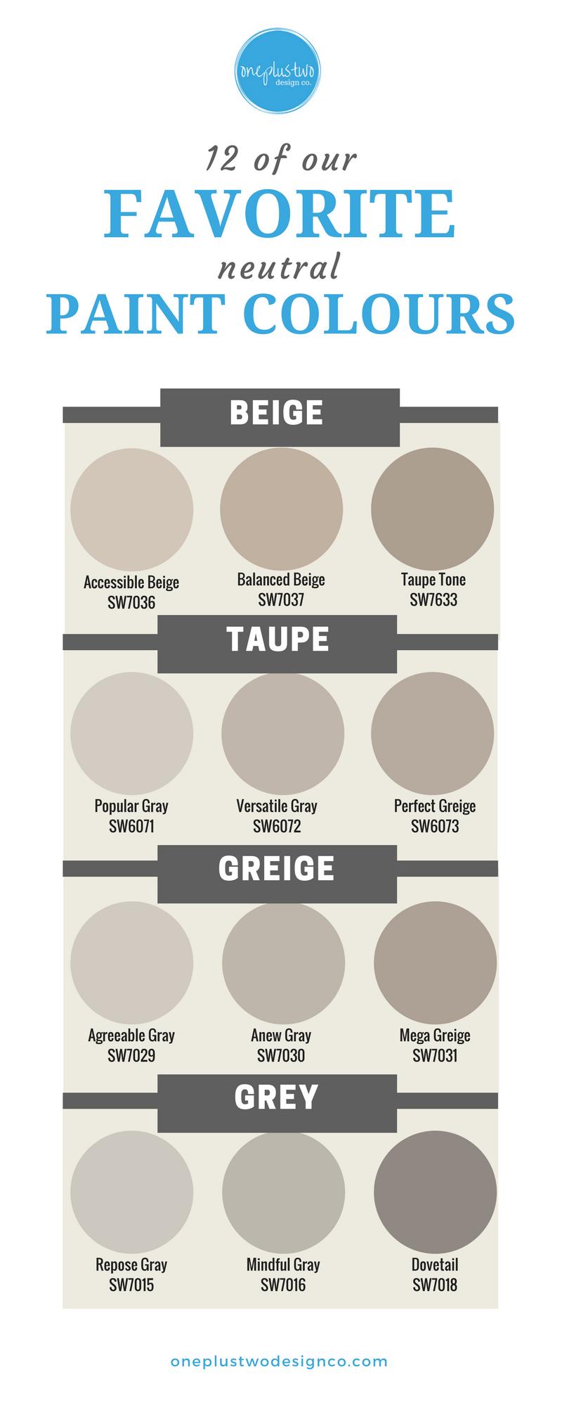 12 best neutral paint colours for your home paint colors pinturas de pared pinturas de. Black Bedroom Furniture Sets. Home Design Ideas