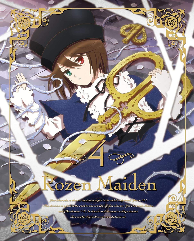 Amazon.co.jp   ローゼンメイデン 4 [2013年7月番組](初回特典:メタル ...