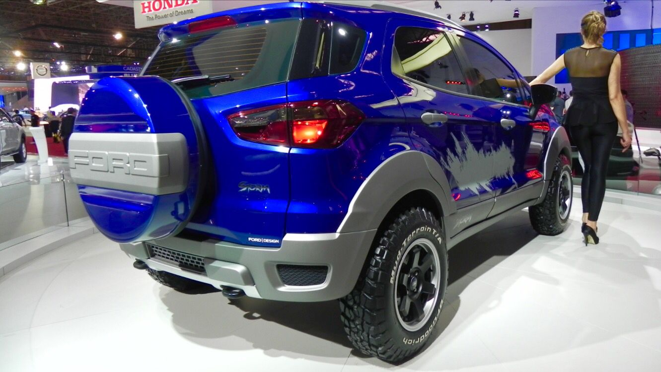 Ford Ecosport Titanium Ford Ecosport Concept Cars Ford