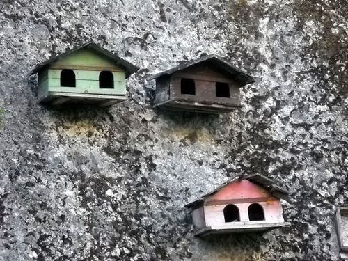I wonder how old these little houses are!