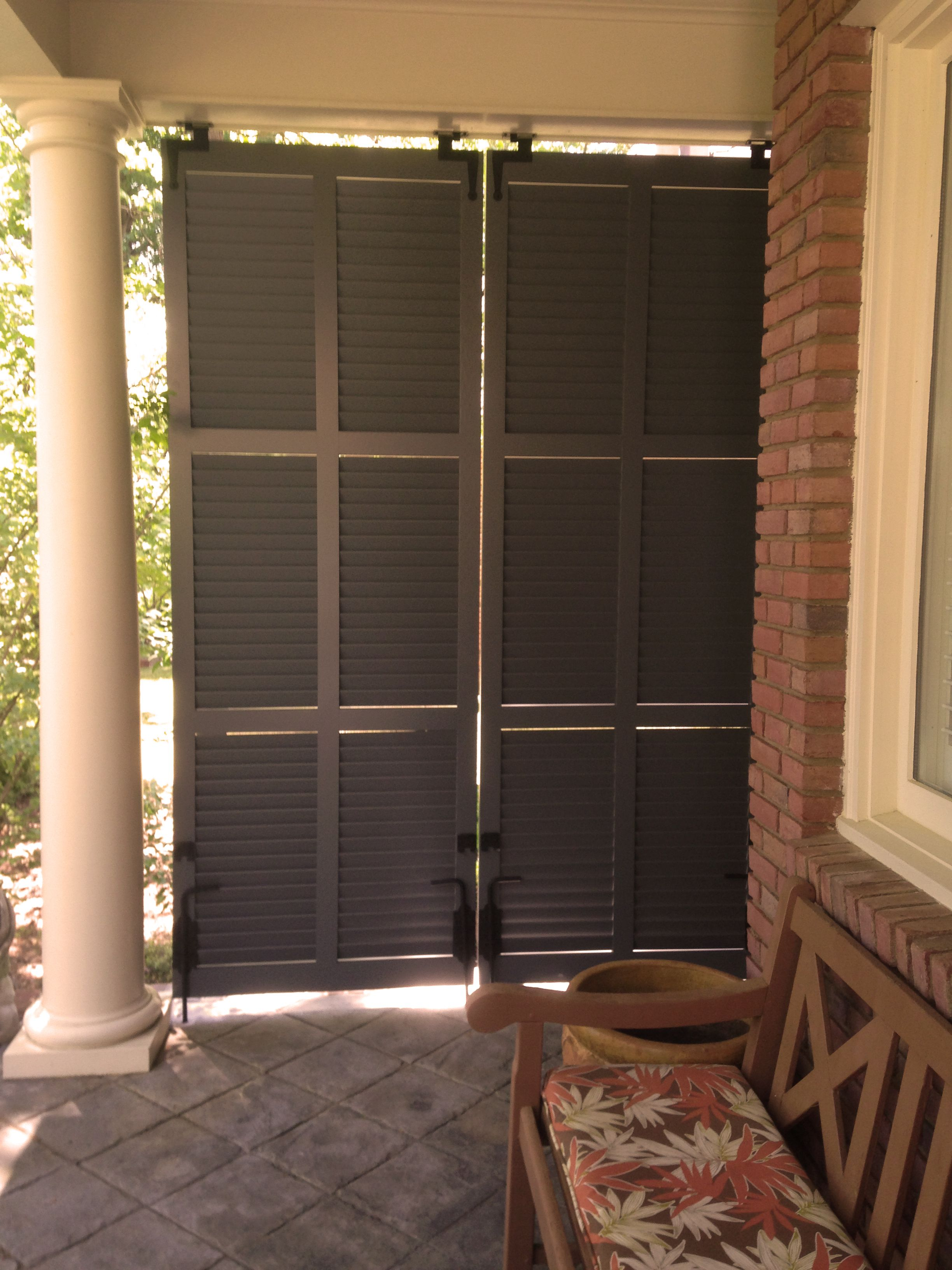 exterior bahama shutter interior exterior shutters pinterest s paration pergola et voisin. Black Bedroom Furniture Sets. Home Design Ideas