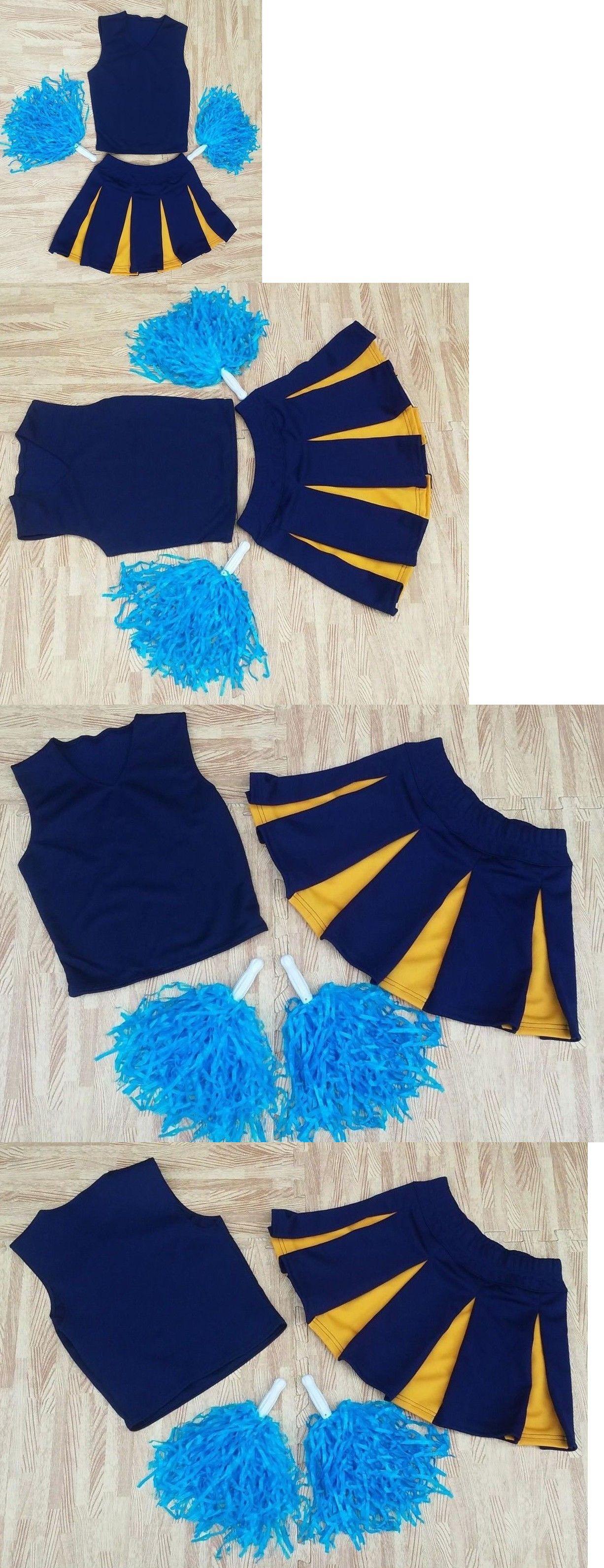 49c5c7c055a Cheerleading 66832 Girl M L Black Real Cheerleader Uniform Top