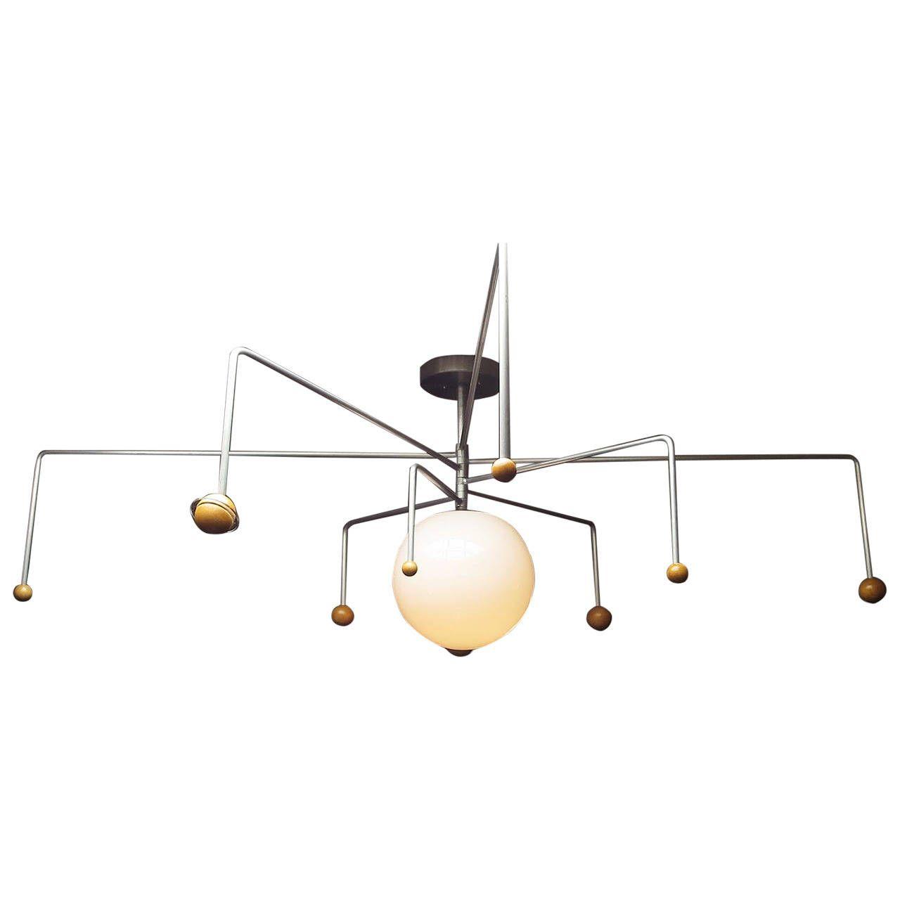 Mid century solar system ceiling lamp solar system pendant lights arubaitofo Choice Image