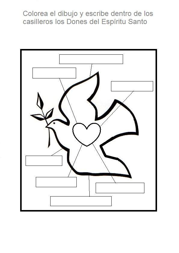 Pin de Carmen Argüello en peace | Catecismo, Catequista y Espíritu santo
