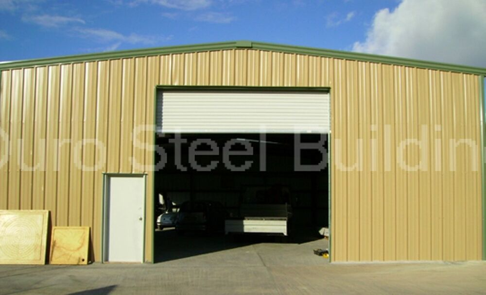 Details about DuroBEAM Steel 60x75x18 Metal Building Kit