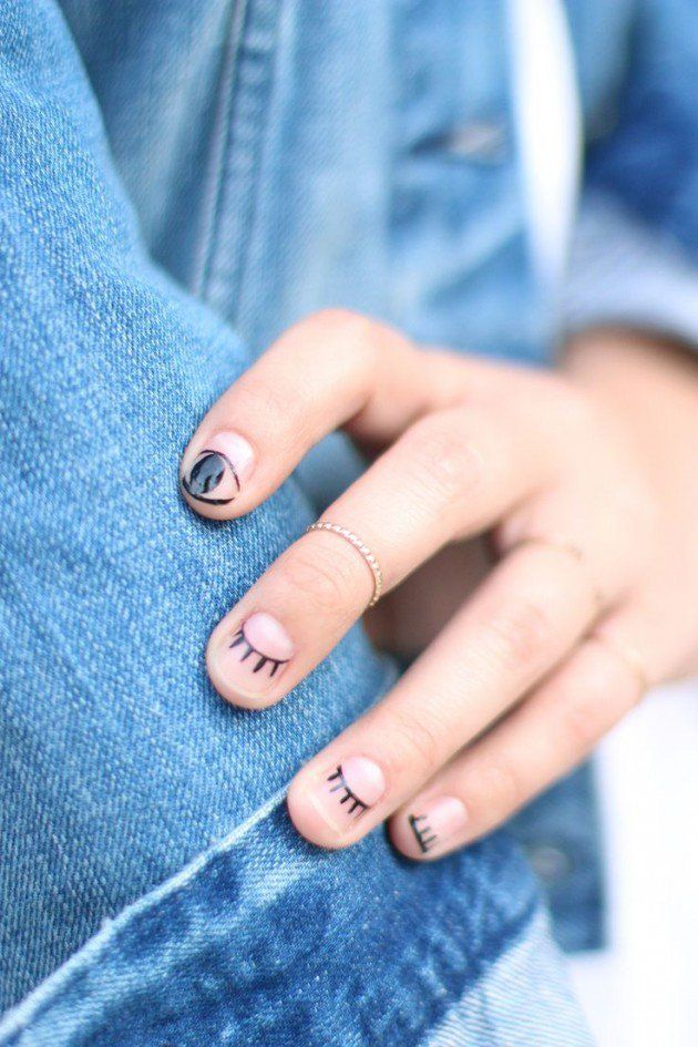 Minimalist Nail Designs For 2017 - Styles 2d | Nail Art Community ...