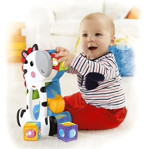 Roller Blocks Tumblin Zebra Baby Stacking Toys 11 Month Old Baby Fisher Price Baby Toys