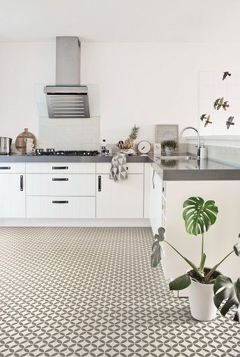 Vinyl Flooring Is Becoming Increasing Popular It Is Durable Easy To Maintain And Now Comes In Vinyl Flooring Kitchen Vinyl Flooring Kitchen Flooring Options