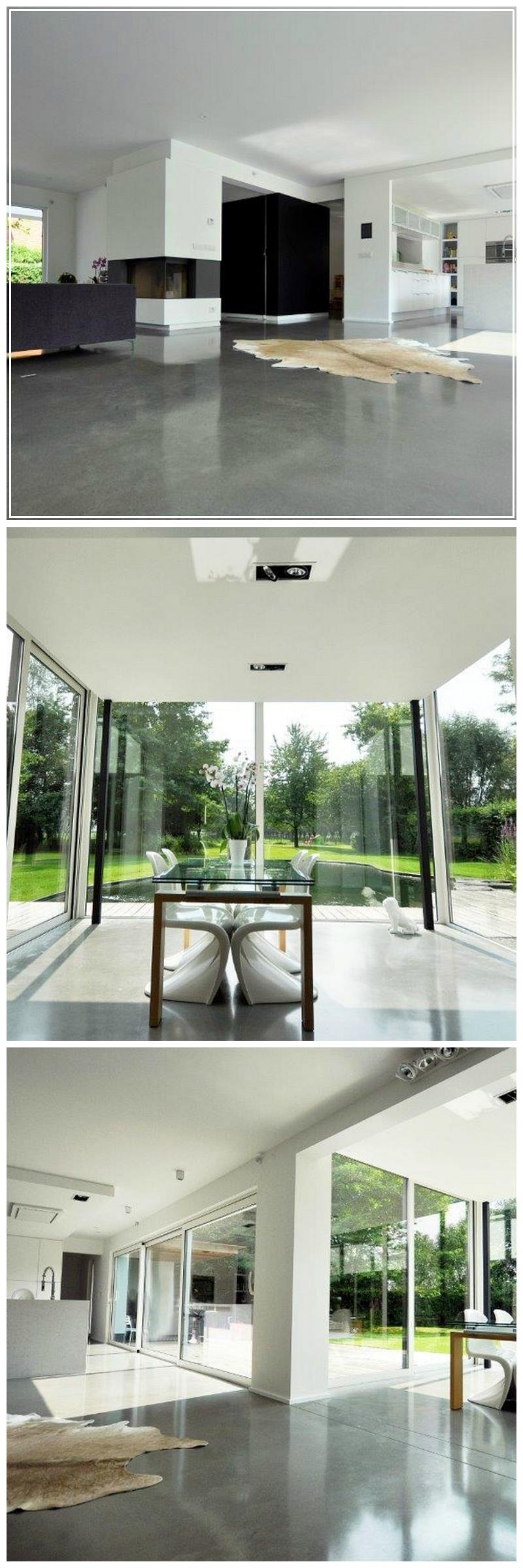 Woonkamer • eetkamer • interieur • renovatie • veranda • modern ...