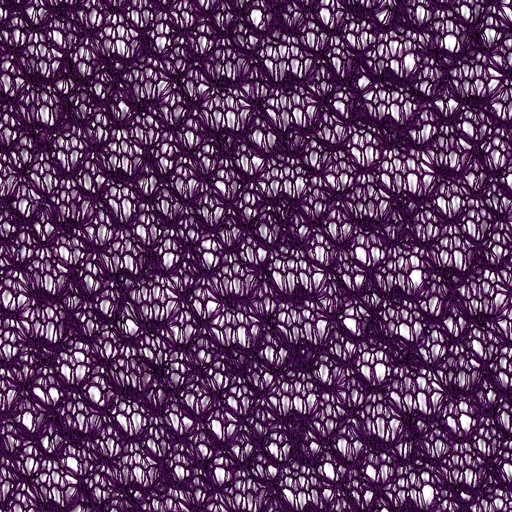 Open weave lace sweater knit purple from fabricdotcom this open weave lace sweater knit purple from fabricdotcom this sweater knit fabric has an ultra bankloansurffo Images