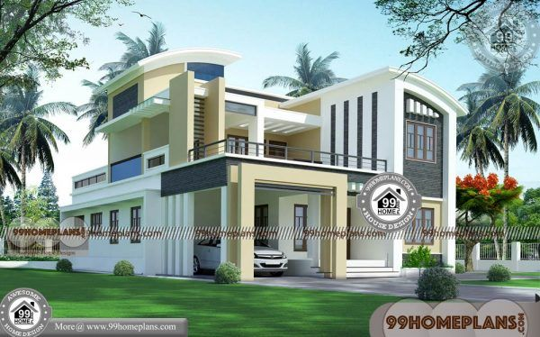 Box Style House Plans With Double Story Ultra Modern Home Collections Bhk Design  Pinterest Also Rh