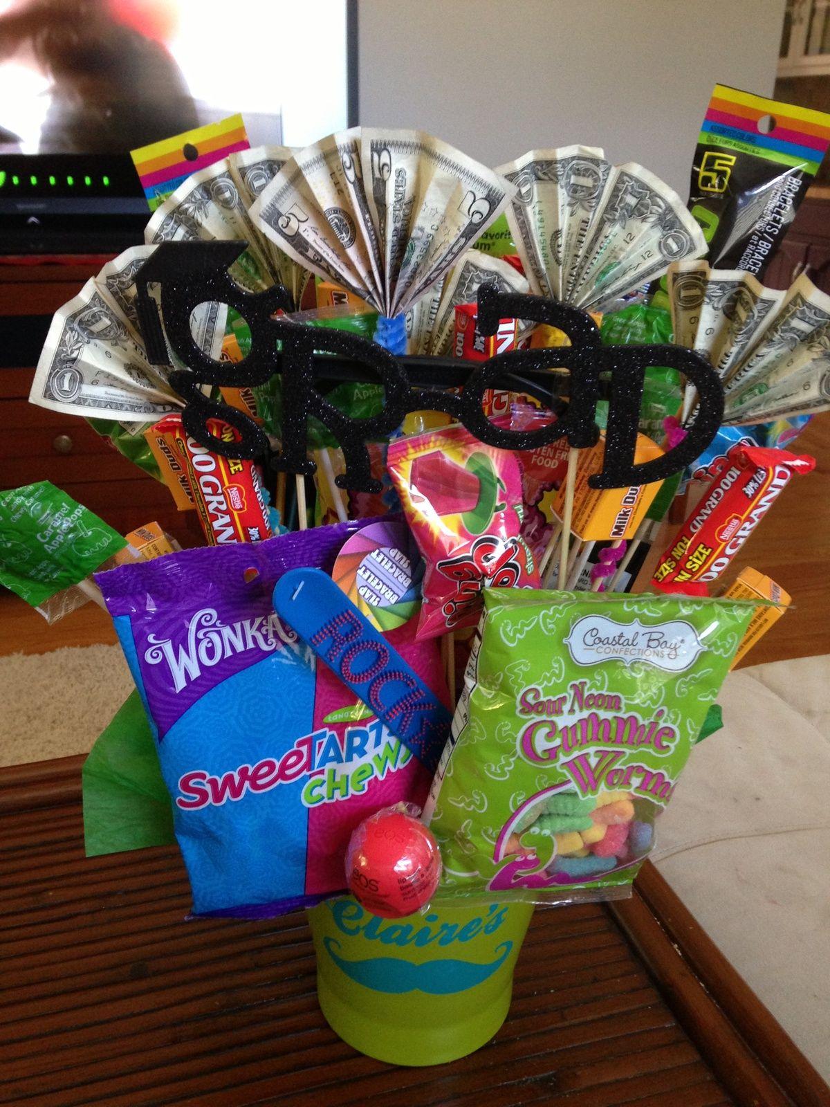 6th grade graduate graduation gift basket graduation