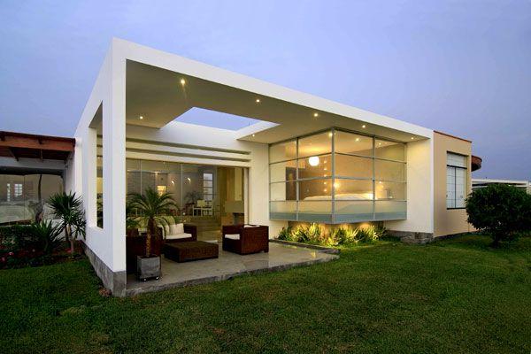 Casa en playa las gaviotas gomez de la torre guerrero for Arquitectura moderna casas pequenas