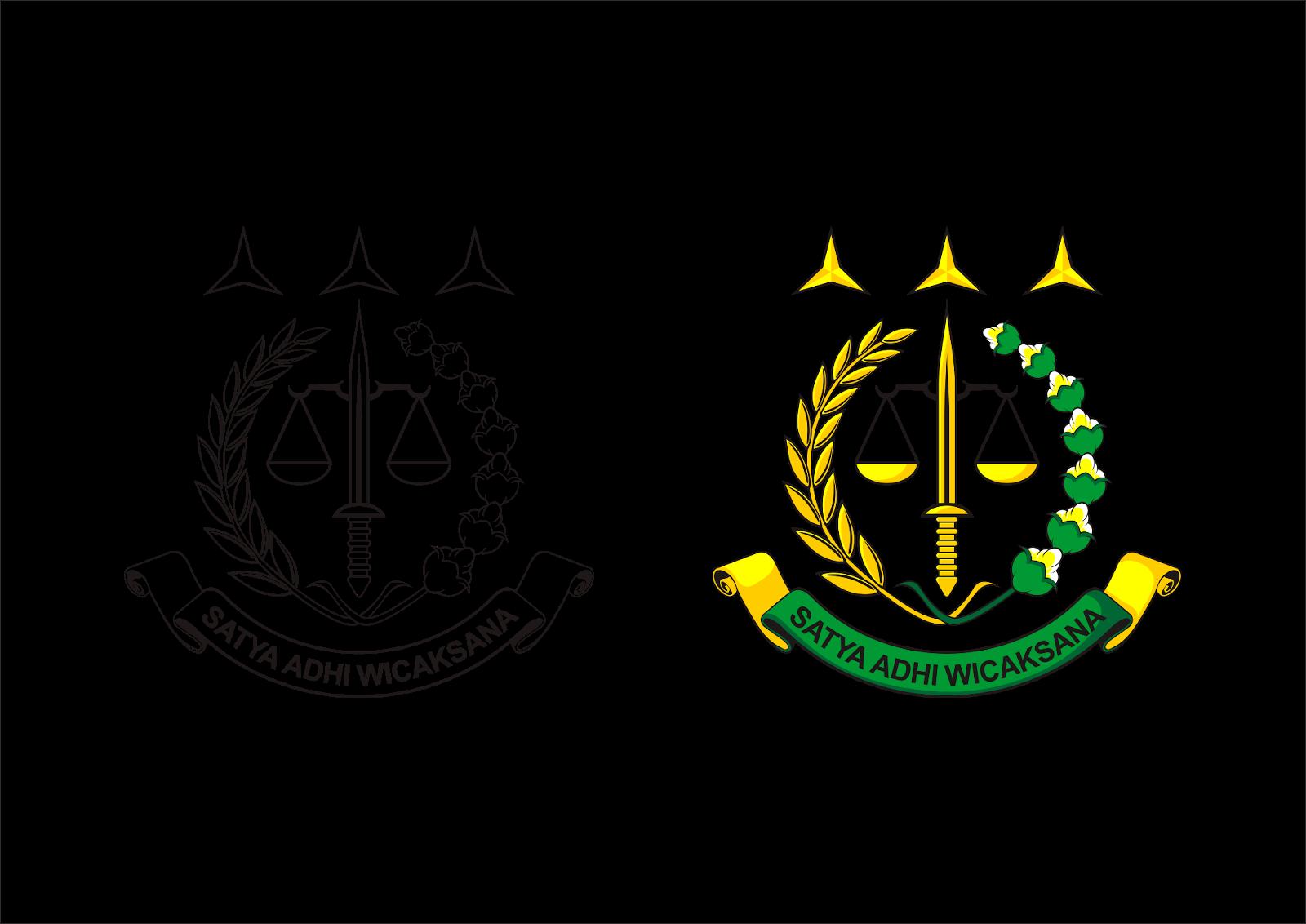 Logo Kejaksaan Agung Republik Indonesia Vector cdr dan Ai