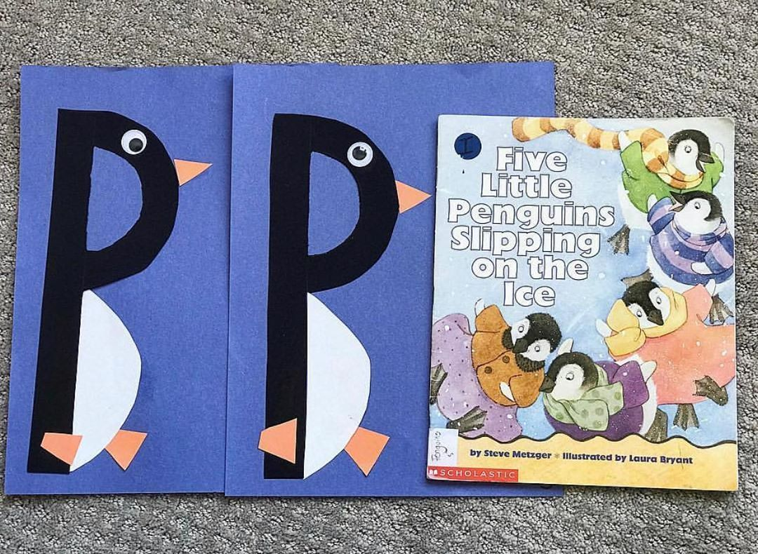 P Is For Penguin Education Preschool Earlylearning