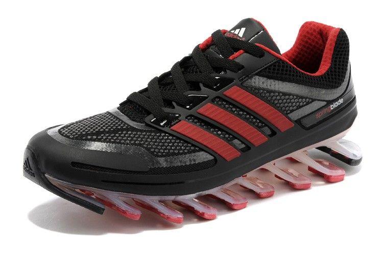 Mens Adidas Springblade Black Red