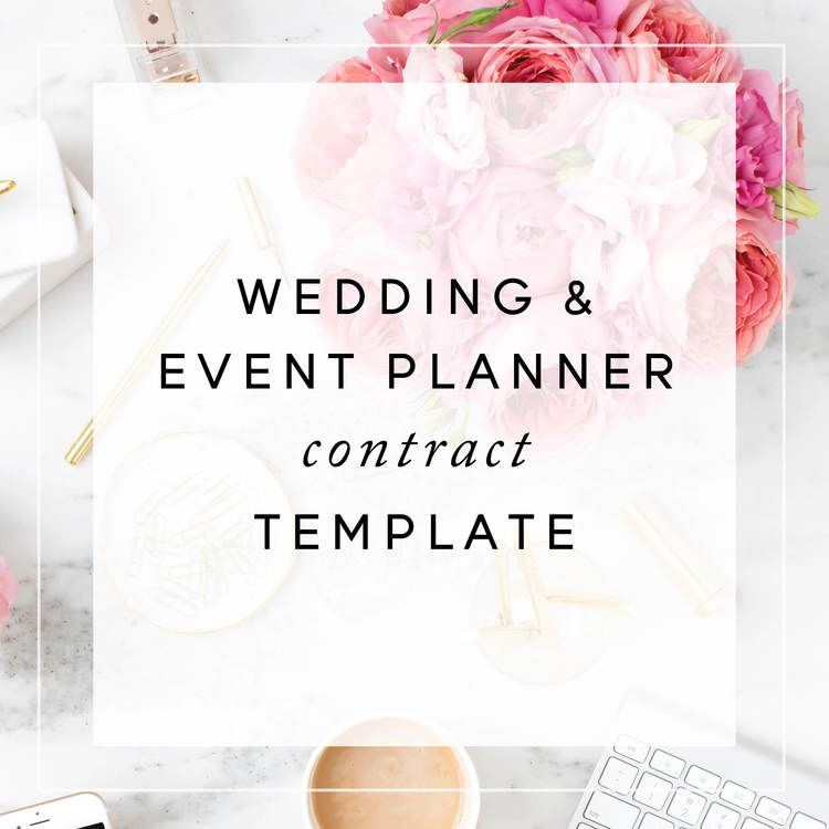 Event Planner Contract Template Christina Scalera.Jpg | Contract