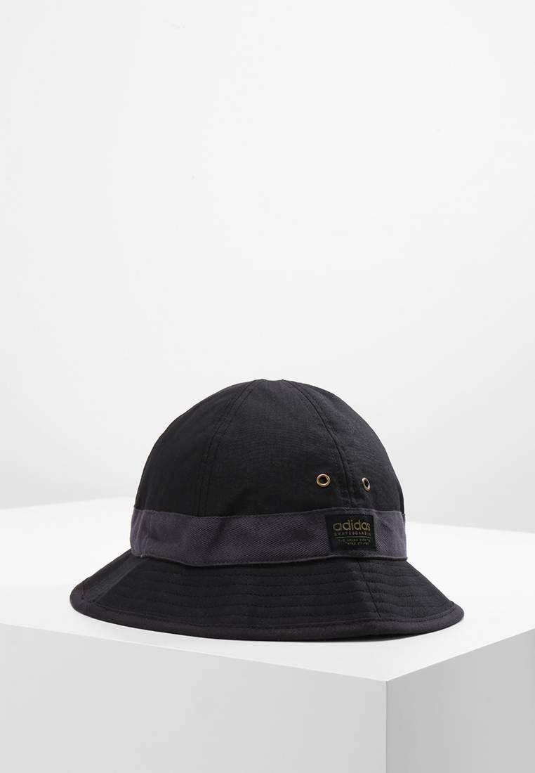 BUCKETHAT - Cappello - black. Composizione 62% cotone 964853be150c
