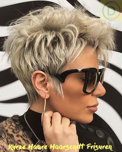 Kurze Haare Frisuren Frauen Jahr 2020 2021 Cool Blonde Hair Short Hair Trends Short Hair Styles